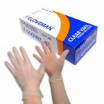 Gloveman Vinyl Clear Gloves - Nayble Ltd