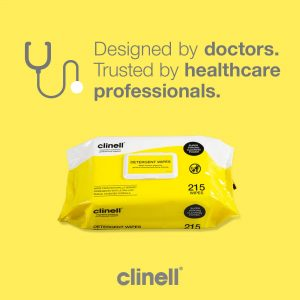 clinell detergent 215 wipes_nayble ltd