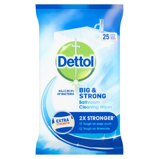 Dettol Extra Large Wipes - Nayble Ltd