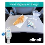 Clinell Hand Sanitising Gel with Retractable Clip – 50ml