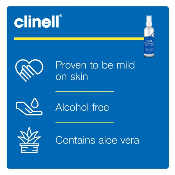 Clinell Antimicrobial Spray for Hands and Surface Nayble Ltd