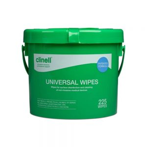 Clinell bucket 225 wipes - nayble ltd