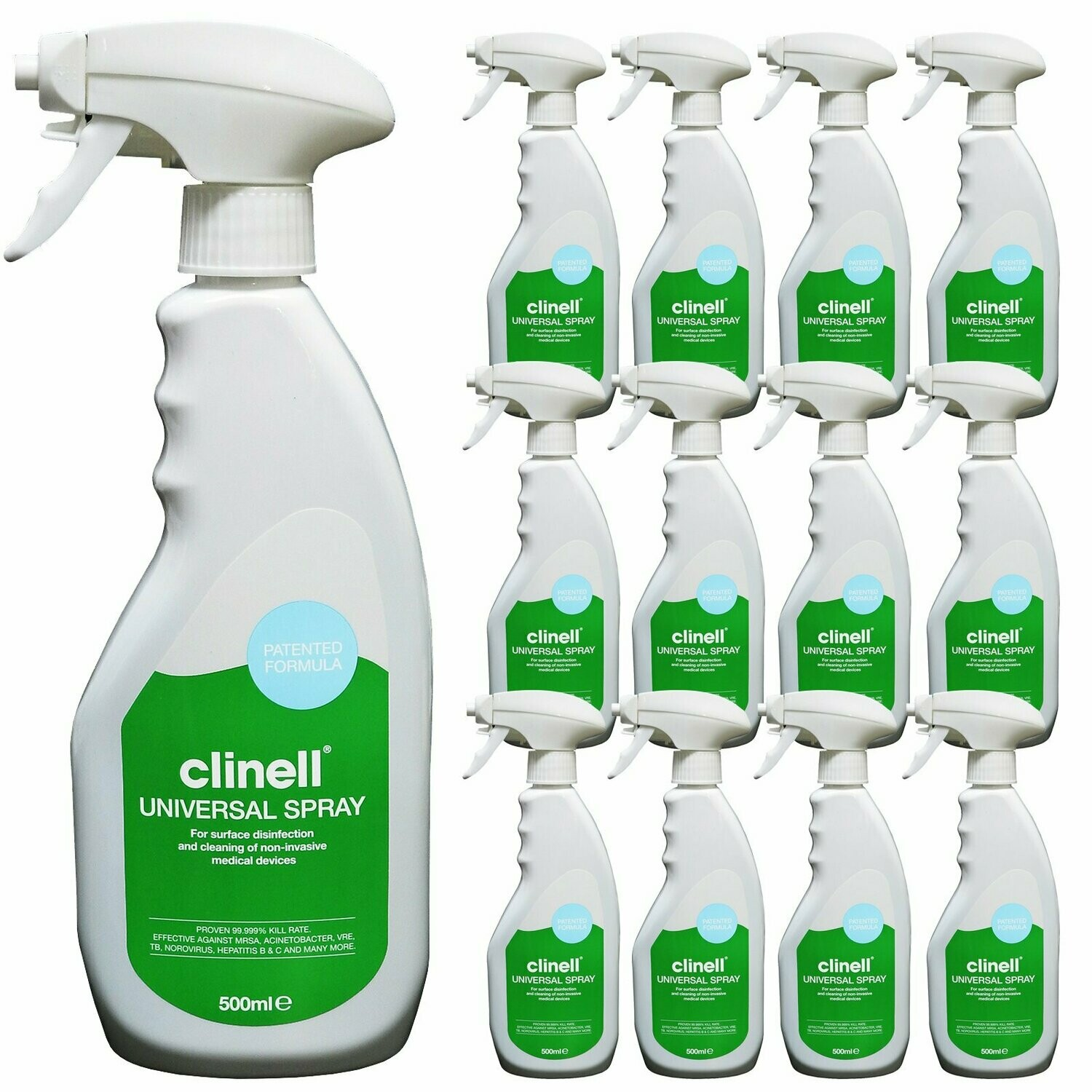 Clinell Universal Disinfectant Spray - nayble