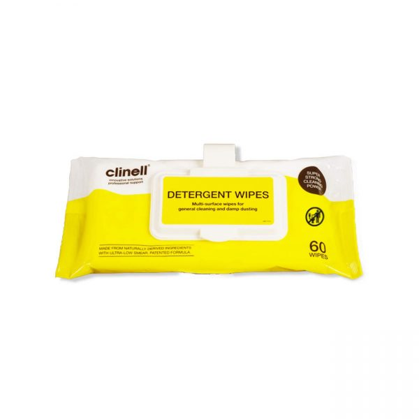 clinell detergent wipes - nayble ltd
