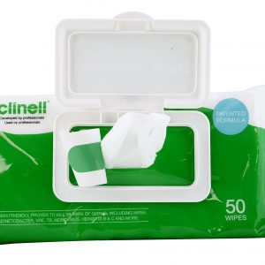 clinell-universal-wipes-50-with-clip-Nayble Ltd