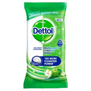 dettol green apple pack 30